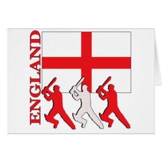 Cricket England Card