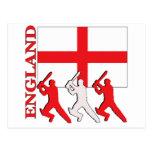 Cricket England Post Card