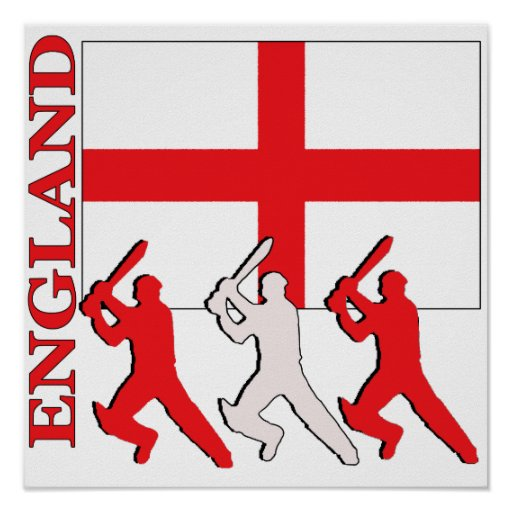 Cricket England Poster