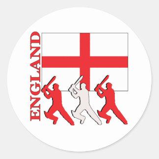 Cricket England Sticker