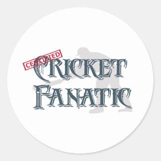 Cricket Fanatic Sticker