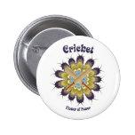 Cricket Flower of Power Badges