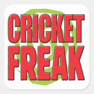Cricket Freak R Stickers