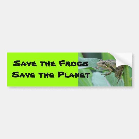Cricket Frog Bumper Sticker