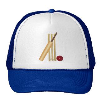 Cricket Game Mesh Hat