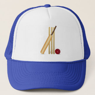 Cricket Game Trucker Hat