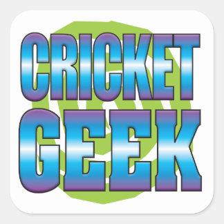 Cricket Geek v3 Square Sticker