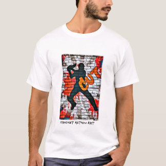 Cricket Graffiti - Cut T-Shirt