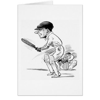 Cricket Greeting Card