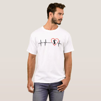 cricket heartbeat design T-Shirt