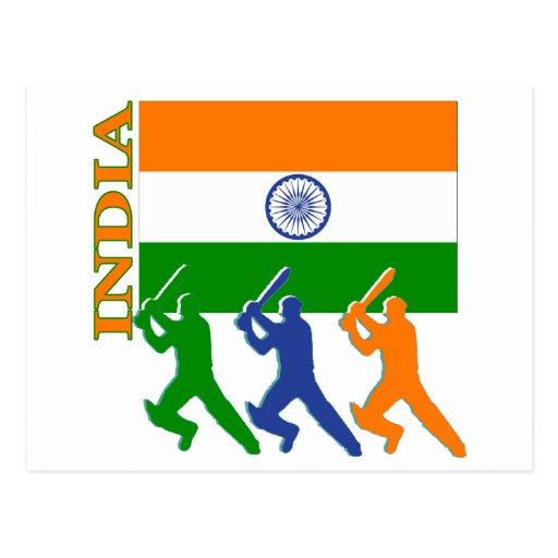Cricket India Postcards