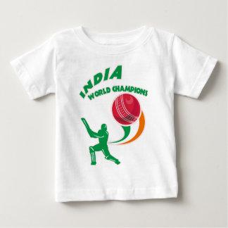 cricket india world champions baby T-Shirt