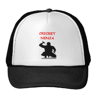 cricket joke cap