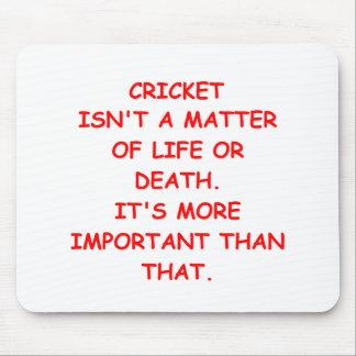 cricket joke mouse mat