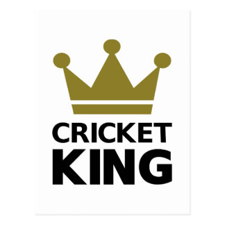 Cricket king post cards