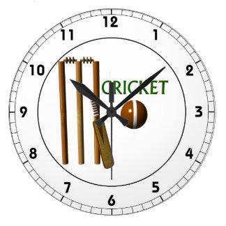 Cricket Large Clock