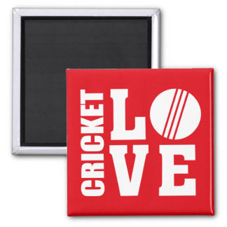 Cricket Love Magnet