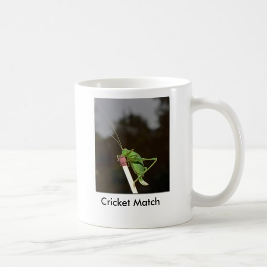 Cricket Match Coffee Mug