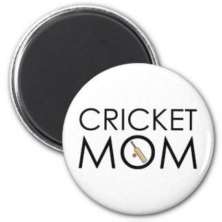 Cricket Mom 6 Cm Round Magnet