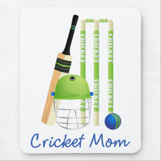 Cricket Mom Tees and Gifts - Great Gift Idea Mouse Pad