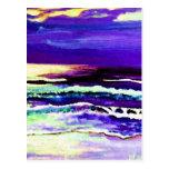"""Cricket Night Sea""  CricketDiane Ocean Art"