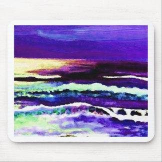 """Cricket Night Sea""  CricketDiane Ocean Art Mouse Mat"