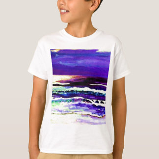 """Cricket Night Sea""  CricketDiane Ocean Art T-Shirt"