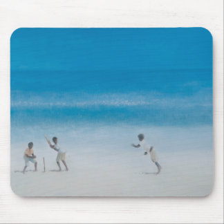 Cricket on the beach 2012 mouse mat