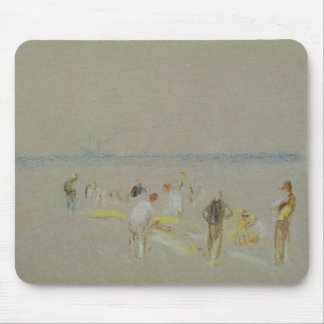 Cricket on the Goodwin Sands (chalk, w/c & bodycol Mouse Mat