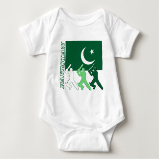 Cricket Pakistan Baby Bodysuit
