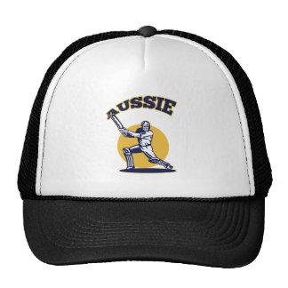cricket player batsman Australia retro Trucker Hat