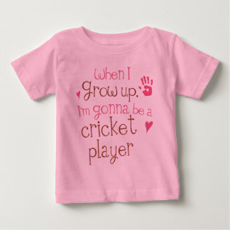 Cricket Player (Future) Infant Baby T-Shirt