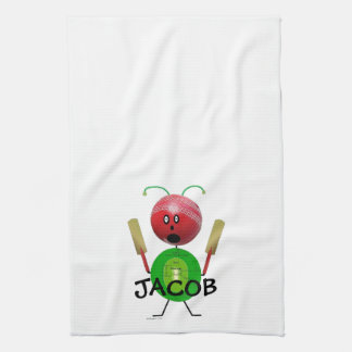 Cricket Player Hand Towels