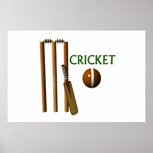 Cricket Print