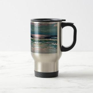 Cricket s Ocean - Beach Seascape Coffee Mug