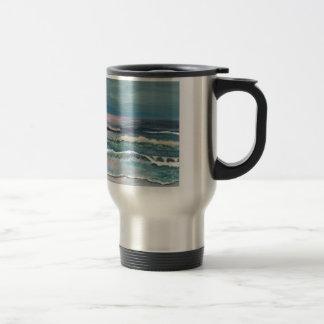 Cricket s Ocean - Beach Seascape Mug