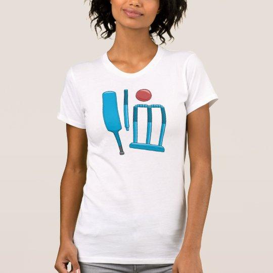 Cricket Set Womens T-Shirt