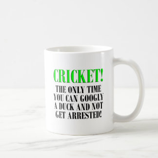 CRICKET Shirts, T-Shirts and Gifts! Coffee Mug