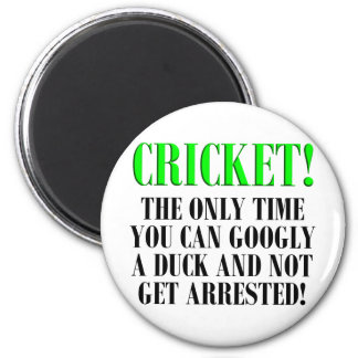 CRICKET Shirts, T-Shirts and Gifts! Magnet