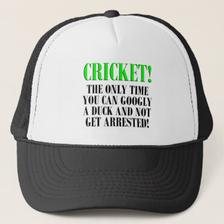 CRICKET Shirts, T-Shirts and Gifts! Trucker Hat