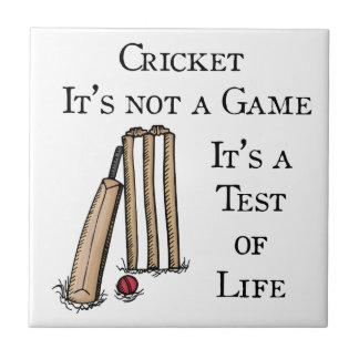 Cricket Small Square Tile