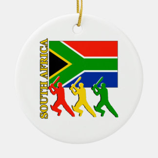 Cricket South Africa Christmas Ornament