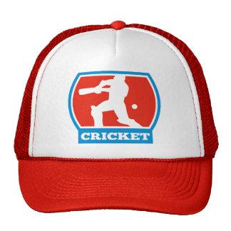cricket sports batsman batting trucker hats