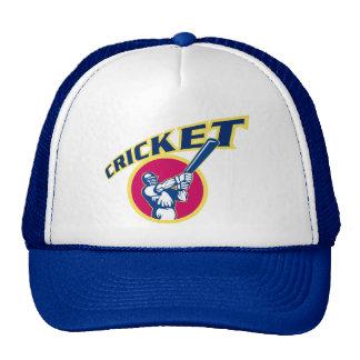 cricket sports batsman batting mesh hats