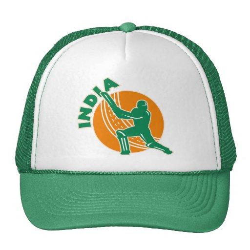 cricket sports batsman batting India Trucker Hat