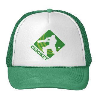 cricket sports batsman batting shield trucker hat