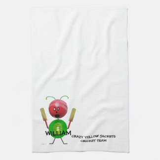 Cricket Team Tea Towel