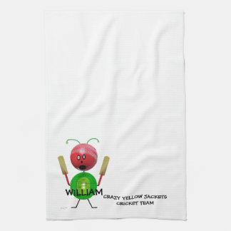 Cricket Team Towel