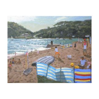 Cricket Teignmouth Canvas Print