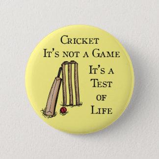 Cricket Test Badge